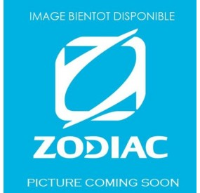 Zodiac Nautic Bimini on beige roll bar Medline 7.5 - Factory assembly - French Riviera dealership
