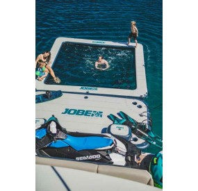 Water toy  JOBE INFINITY ISLAND INFLATABLE DOCK - French Riviera