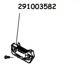 Sea-Doo Accessories Installation element for board support 295100838 - RXT and GTX (2010-2017). 291003582 - French Riviera deale
