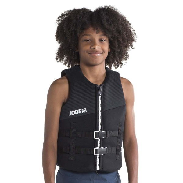 Water toy  Neoprene Vest Youth Black - French Riviera