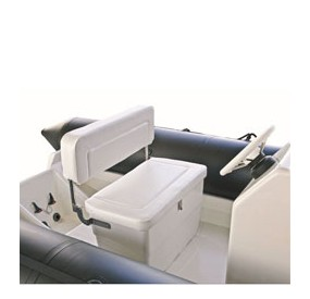 Zodiac Accessories Optima 525 seat 2 places White - Cadet RIB 390 Neoprene - French Riviera